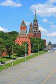 московский кремль в полдень — Стоковое фото