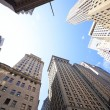 Wall Street buildings — Stock Photo #10983733