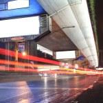 Urban night traffics view — Stock Photo #10739079