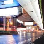 Urban night traffics view — Stock Photo #10739564