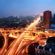 a road junction at hangzhou — Stock Photo