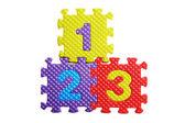 Puzzle abeceda — Stock fotografie
