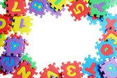 Alphabet Puzzle — Stock Photo