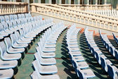 Stadium seats — Stock Photo