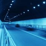 Urban night traffics view — Stock Photo #10757750