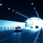 Urban night traffics view — Stock Photo #10758021