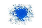 Mavi boya — Stok fotoğraf