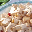 Closeup of Delicious fine Chinese cuisine, tofu — Stock Photo