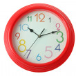Red clock — Foto Stock #10776764