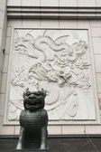 Chinese Classical monster sculpture — Stock Photo