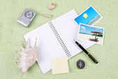 A pile of clutter items — Foto Stock