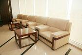 Sofa and tea table — Stock Photo
