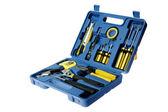 Blue toolbox — Stock Photo