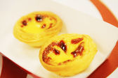 Egg tarts — Stock Photo
