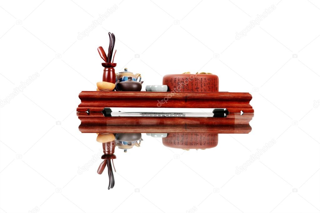 Table for tea ceremony — Stock Photo #10774661