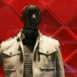 Men's clothing on shop mannequin — Stock Photo