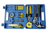 Blue toolbox — Stock Photo