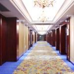 Hotel corridor — Stock Photo #10793470