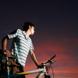 Young asibiker — Stock Photo #10797795