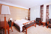 Chinese classical hotel — Stock Photo