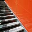 Stock Photo: Steel steps