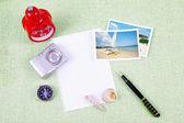 A pile of clutter items — Fotografia Stock