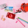 Stock Photo: Clutter of objects