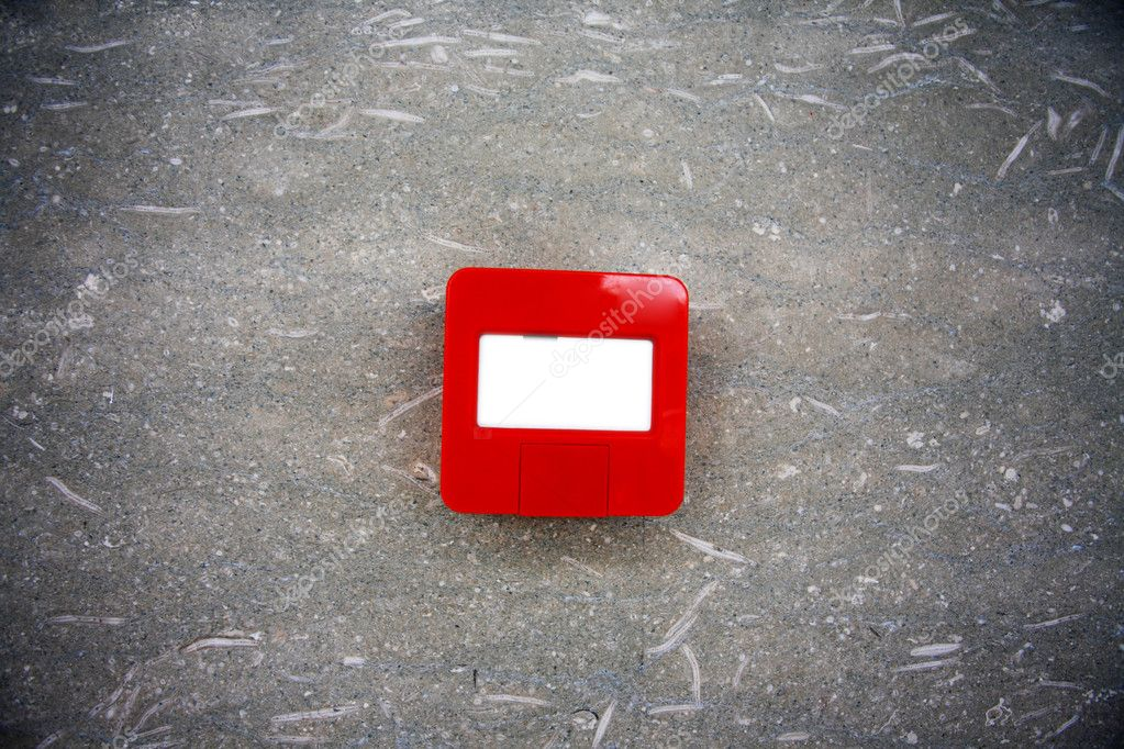 Fire alarm emergency point — Stock Photo #10811505