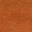 Orange towel texture — Stock Photo