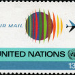 Royalty-Free Stock Photo: United Nations stamp
