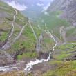 "Stock Photo: Famous ""Troll's Path"", Norway"