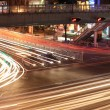 Traffic junctions at night — Stock Photo #10996347