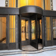 Revolving door - Stock Photo