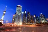 Shanghai at night — Foto de Stock