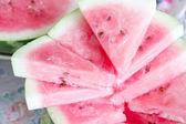 Garden berry watermelon — Stock Photo