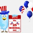 Memorial day. — Stock Vector #10770765