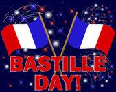 Bastille Day background. — Stock Vector