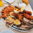 Stock Photo: Assorted seafood