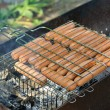 Grilled sausages - Foto de Stock