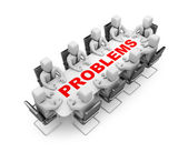 Solve the problem — Stock Photo