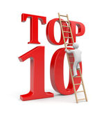 Top ten — Stock Photo