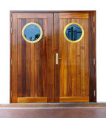 Door on the ship — Stock Photo