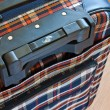 Stock Photo: Details of travel suitcase