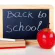 back to school&quot — Stock Photo