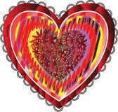 Vector de corazón — Vector de stock
