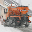 Stock Photo: Winter service vehicle