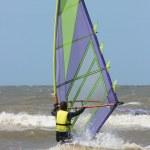 Wind surfer — Stock Photo