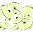 Apple cascade - Stock Photo