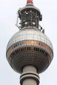 Torre de televisão de berlim — Fotografia Stock
