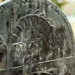 Gravestone Detail — Stock Photo